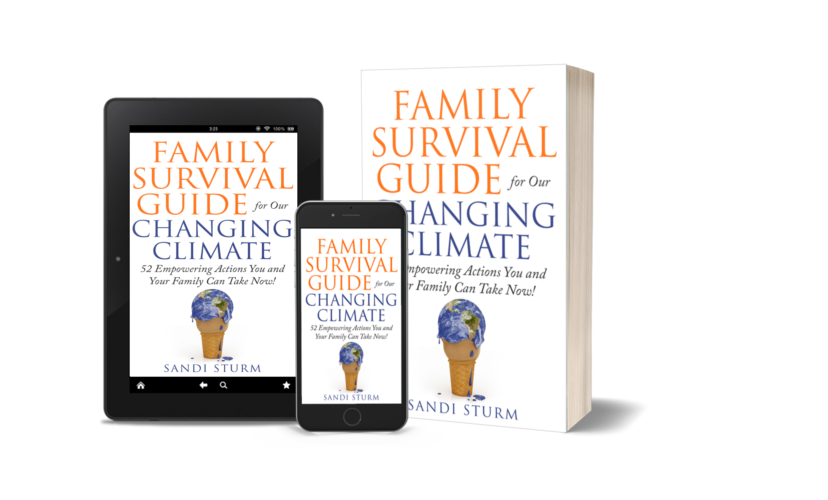 Family Survival Guide for our Changing climate book